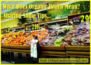Organic Means
